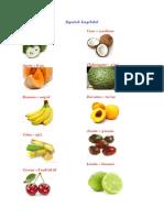 Frutas En Kaqchikel