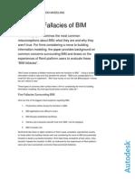 The Five Fallacies of BIM