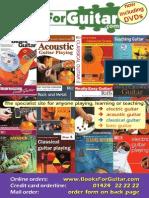 BooksForGuitar Catalogue 2009