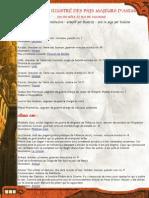 Annuaire PNJs Dante