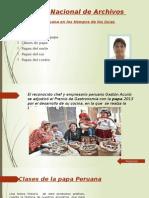 Origen de La Papa en El Peru 01 Examen
