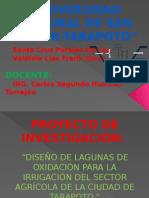 Diapositivas Del Proyecto de Invetigacion