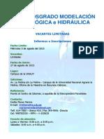 DIPTICO Curso Modelacion Hidro