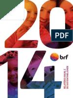 BRF - Relatório Anual 2014
