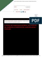 A Ilusão de Segurança Jurídica_ Do Controle Da Violência à Violência Do Controle Penal - Andrade _ Portal Jurídico Inves