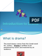 Welcome to Drama - Intro to Drama