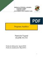 PA-516 Nutricion Vegetal