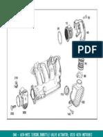 W211 Air Mass Sensor & Hoses