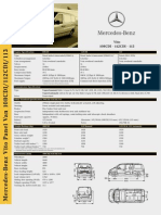 Vito Specifications