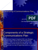 strategic communications plannew cri