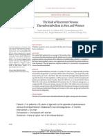 Thromboembolism Risk Study