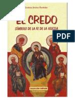 Emiliano Jimenez Hernandez El Credo Simbolo de La Fe de La Iglesia