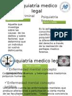 Psiquiatría Medico Legal