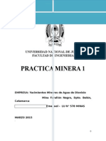 Practica Minera 1