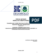 Manual de Manejo de Credito Agropecuario