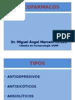 Farmacologia - Psicofarmacología