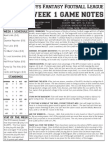 BFFL Notes Week 1