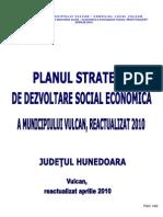 Planul Strategic de Dezvoltare Social Actualizat 2010