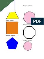 Figuras Geometricas en Ingles