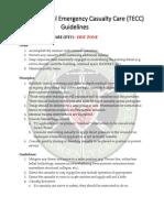 TECC Guidelines DEC 2014 Update