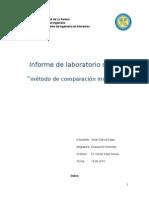 Comparacion Multiple analisis sensorial
