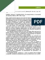 El Consejo T�cnico- un encuentro entre maestros. M�xico, SEP, 72 pp. Libros del Rinc�n.