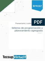 Unidad I Sistema de Progamacion y Planeacion Agregada