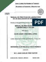 Manual Analizador de Espectro Agilent r3131