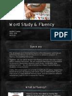Word Study & Fluency
