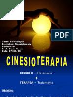 Introdução a Cinesioterapia