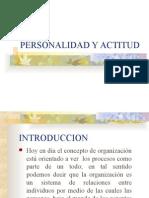 Personalidad y Actitud