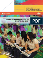 Instructivo Viceministerial Año Escolae 2015-2016 (1)
