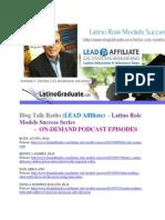 LRL Blog Talk Radio (LEAD Affiliate) - Latino Role Models Success Series - ON-DEMAND PODCAST EPISODES.pdf