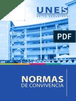 Normas de Convivencia UNES Agosto 2014