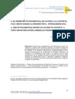 El Derecho Fundamental de Acceso a la Justicia desde la Perspectiva Interamericana
