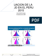 Situacion de La Salud en El Peru 2015