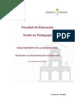 Iniciacion a La Economia de La Educacion