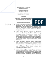 Permenpu 45 2007 Pedoman Teknis Pembangunan Gedung Negara(1)