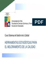 Herramientas Estadísticas Para La Calidad 2015