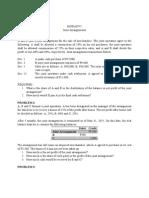Lecture Problems - Joint Arrangements