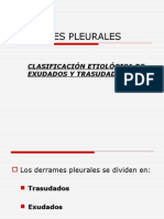 Clase 2d. Derrame Pleural