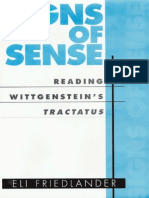 Friedlander, 2001 - Signs of Sense Reading Wittgenstein's Tractatus