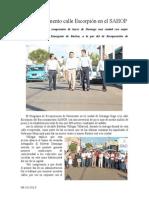 08.10.2013 Comunicado Calle Escorpión en El SAHOP