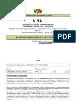 Unl Silabo Presupuesto M-julio 2014
