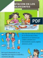 Alimentacion en Los Adolescentes