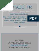 dictado_tr.ppt