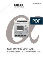 Mitsubishi Al-10mr-A (Software Manual)
