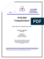 Collapsible Baton – Technical Report – CPRC