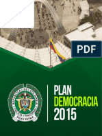 Cartilla Plan Democracia 2015