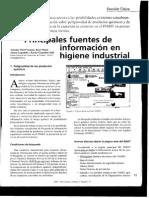 Fuentes de Info en Hig-Industrial